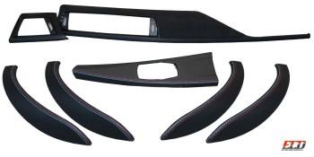 Alcantara Carbon Interieurleisten F30 F31 F34 F35 F80 dekor