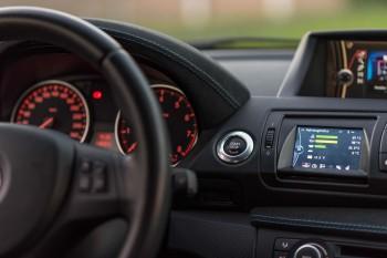 Datendisplay für BMW E81 E82 E87 E88 1er Ohne Montage / Mit Temperaturfühler