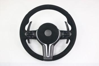 Carbon - Alcantara Steering wheel covering BMW M2 M3 M4 M5 M6