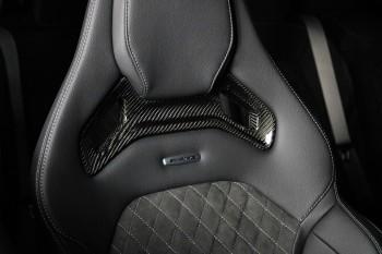Carbon Sitzblenden passend bei Mercedes Benz C63 AMG W205 für Performance Sitze