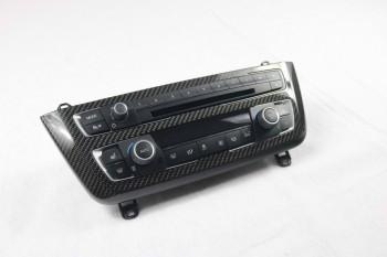 Carbon hochglanz Radioblende passend bei BMW F30 F31 F32 F33 F80 F82 F83