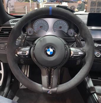 Carbon Schaltwippen BMW M2 M3 M4 M5 M6 Teile von ECD-Performance / Carbon offenporig matt