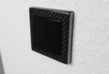 Carbon Design - Lichtschalter