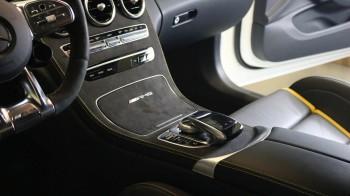 Alcantara Mittelkonsole passend für Mercedes-Benz C Klasse W205 C205 S205 A205