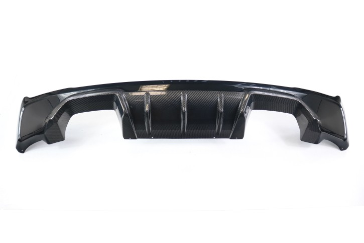 M2 look diffuser for F22 F23 in carbon, painted or primed
