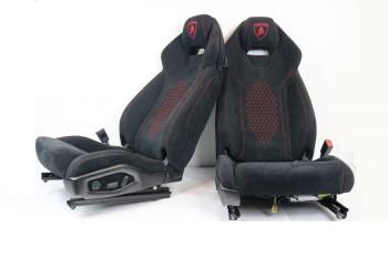 Alcantara Sitze Neubezug passend bei Lamborghini Huracan