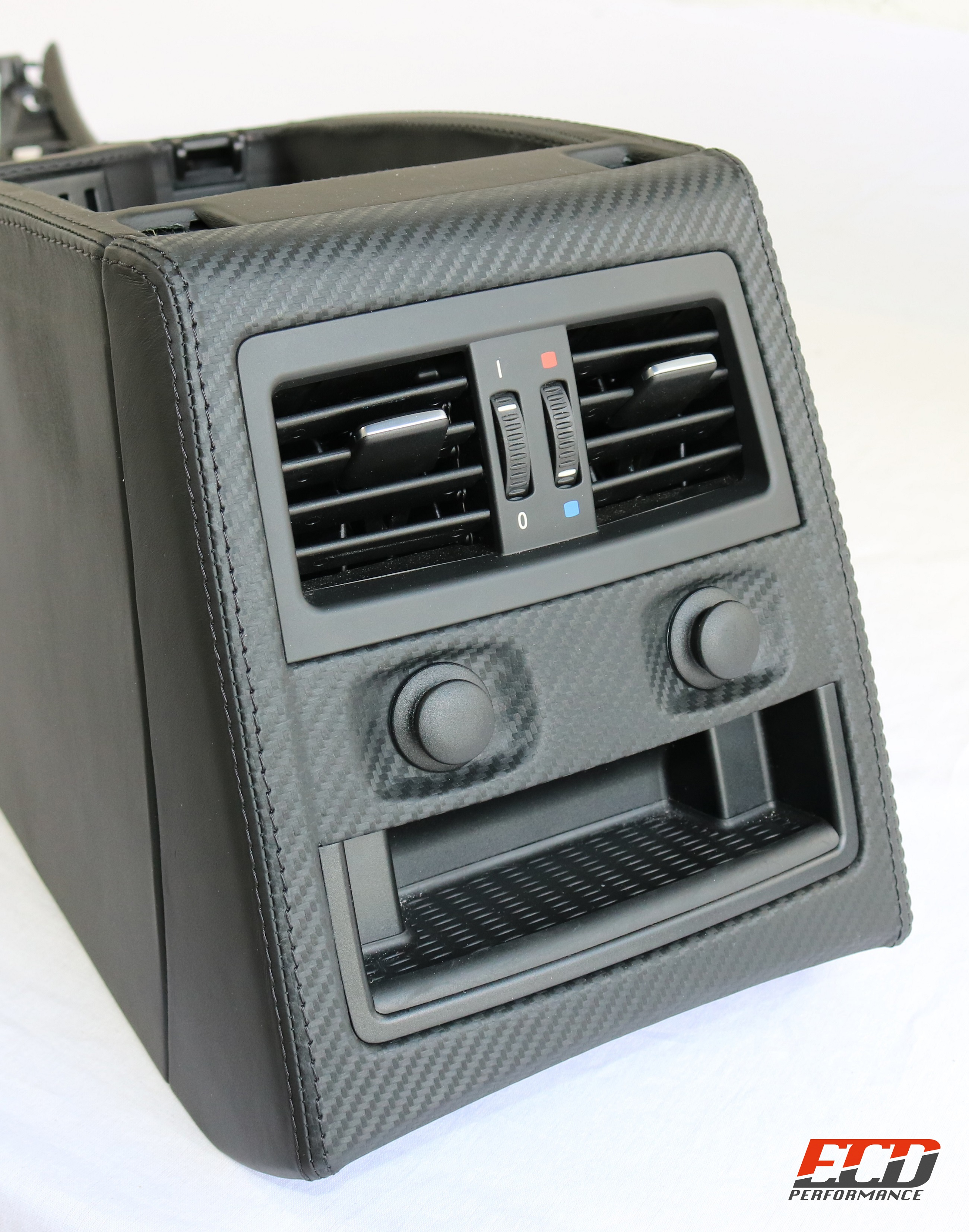 Center console BMW E90 E91 Nappa, Carbon leather, My parts for finishing