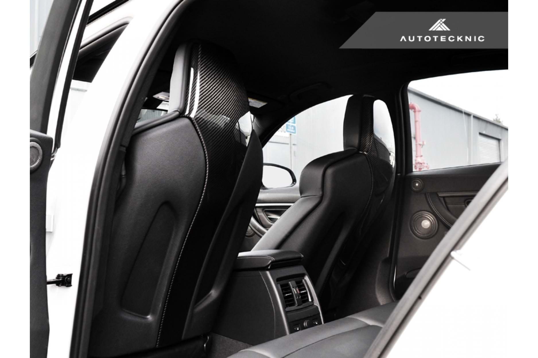 Carbon Seat Cover Bmw M3 M4 F80 F82 F83 Ecd Cs M4