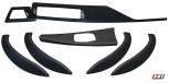 Alcantara Carbon Interieurleisten F30 F31 F34 F35 F80 dekor Alcantara / Carbonleder / Tiefschwarz / Ohne Naht / Lackiert / Teile von ECD-Performance