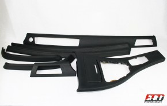 Carbonleder Interieurleisten E90 E91 M3 Nappa Carbon- und Nappaleder / Doppelnaht / Schwarz / Meine Teile zur Veredelung