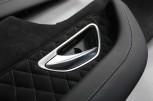 Alcantara Türverkleidung alle 4 Einsätze passend bei Mercedes Benz  C63 C205 AMG