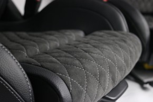 Alcantara Sitze vorne und hinten Sitzfläche passend bei  Mercedes Benz C63 AMG C205