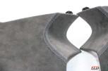 Alcantara Dachhimmel BMW F20 F21 F22 F87 Tiefschwarz / Doppelnaht / Blau / Meine Teile zur Veredelung
