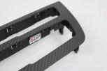 Carbon Radioblende Offenporig matt passend bei Facelift LCI BMW F20 F21 F22 F23 F87 M2 Competition