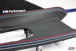 Alcantara Carbon Interieurleisten F30 F31 F34 F35 F80 dekor Alcantara / Carbonleder / Schwarz / Ohne Naht / Lackiert / Teile von ECD-Performance