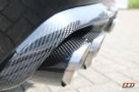 Carbon Endrohr 95mm Glänzend / Scharfe Kante / Geschliffen