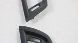 Carbon Frischluftgrill Blenden passend bei BMW LCI F20 F21 F22 F23 F87 M2 Competition Ich sende meine Teile ein / Offenporig Matt