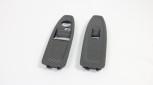 Carbon Fensterheber passend zu BMW F21 F22 F87 M2 alle Teile von BENDA / Offenporig Matt / Ohne Anklappfunktion