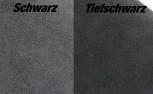 Gurtschloss Bezüge vorne 135mm Alcantara Tiefschwarz / Alcantara / Hellblau